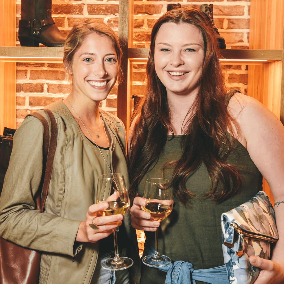The Frye Company Austin grand opening 2016 Liz Cook Melanie Johnson
