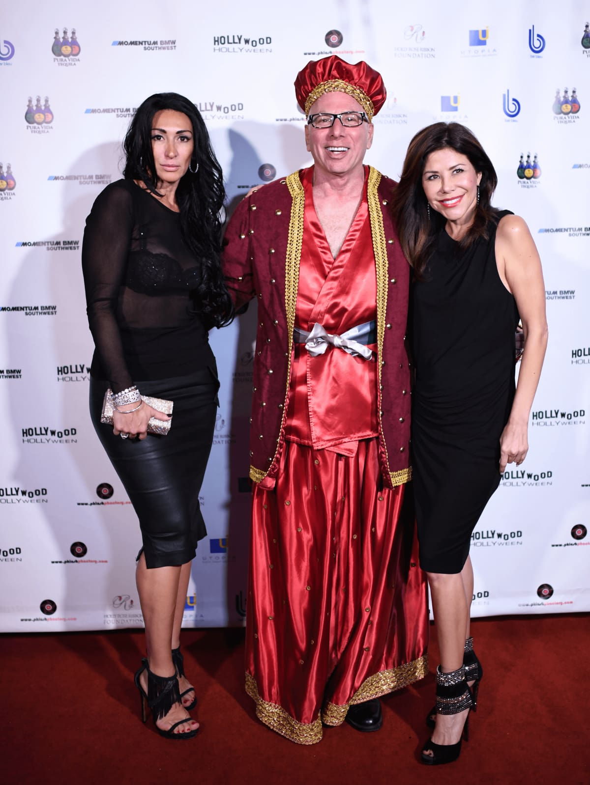 Houston, Hollywood Hollyween Party, Oct. 2016, Angelica Jimenez Chapman, Dr. Franklin Rose, Ericka Bagwell
