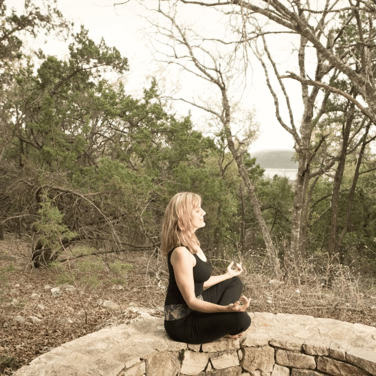 Meditation at Travaasa Austin
