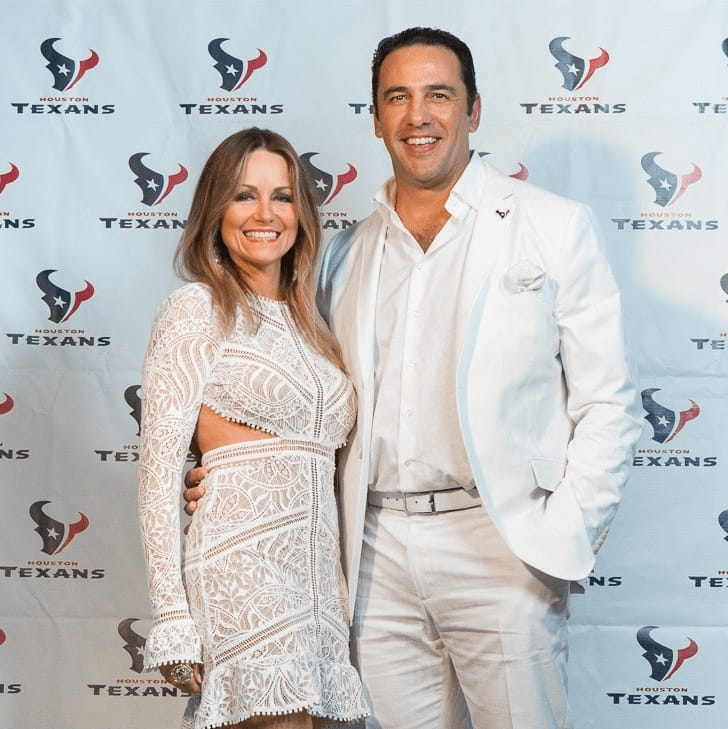 Loya Texans White Out party, 9/16 Lucinda Loya, Javier loya