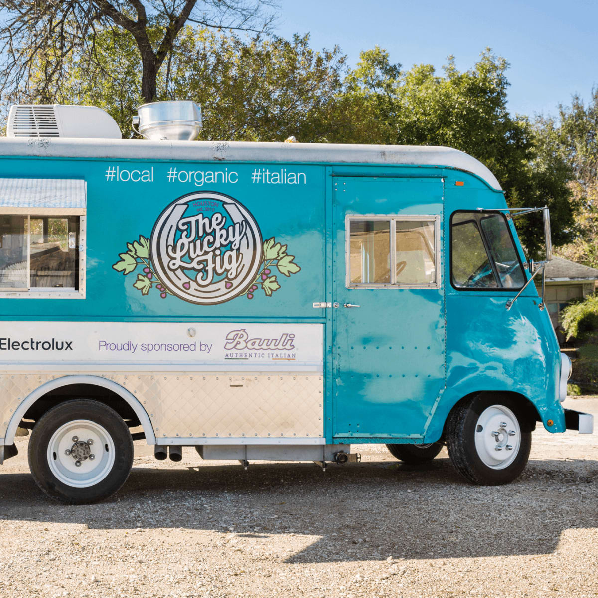 Lucky Fig food truck exterior