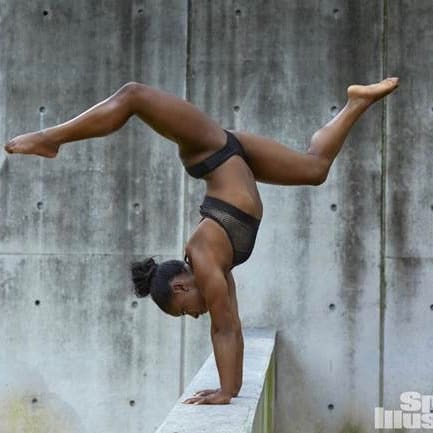 Simone Biles in Sports Illustrated 2017 swimsuit issue