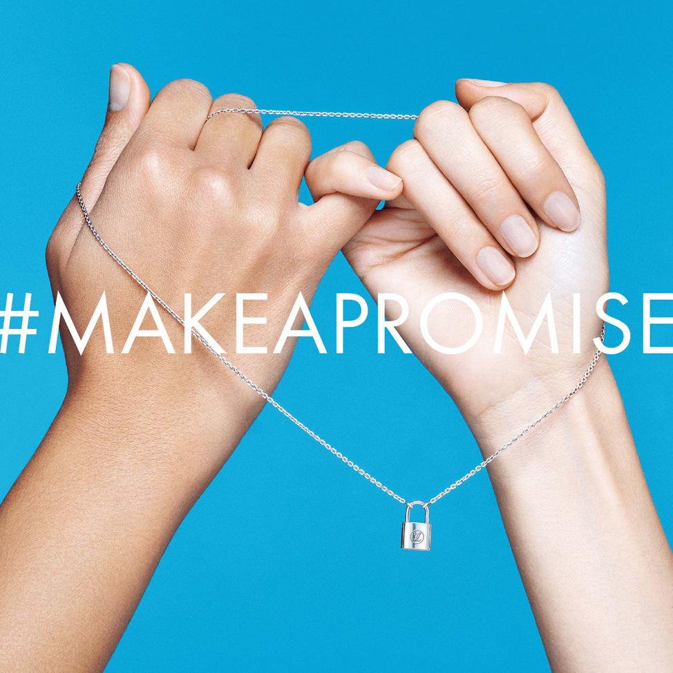 Houston, Louis Vuitton Make A Promise campaign, Jan 2017, Hashtag Make a Promise