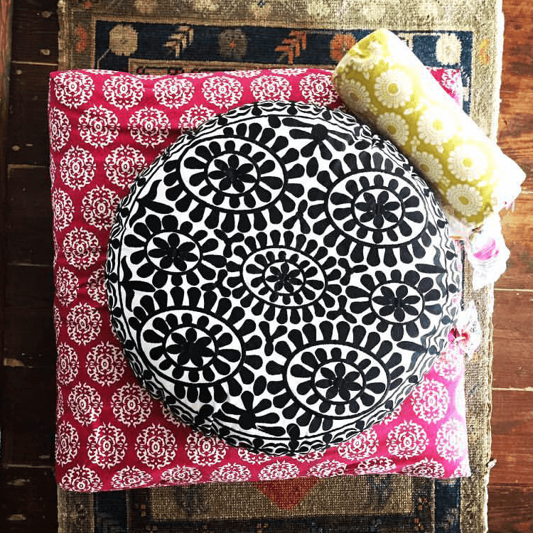 Sukha Yoga Chattra cushions