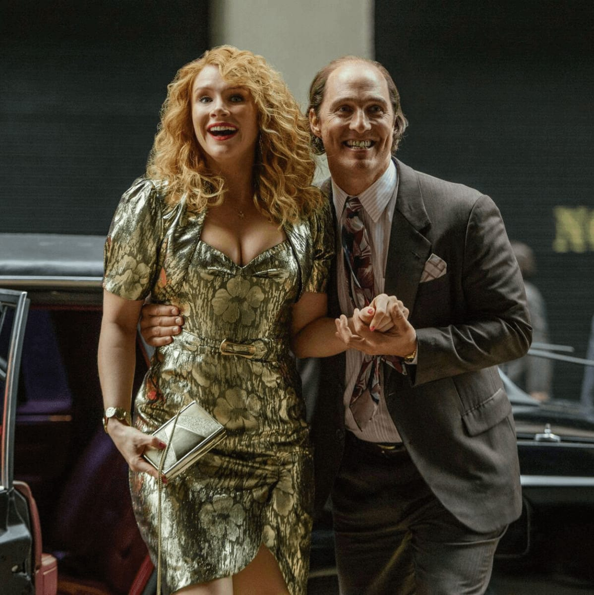 Bryce Dallas Howard and Matthew McConaughey in Gold