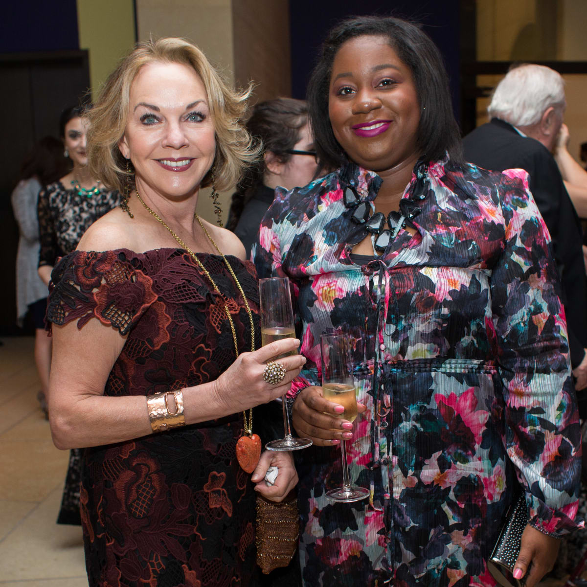Blanton Museum of Art Gala 2017 Gay Gaddis Ruth Ajayi