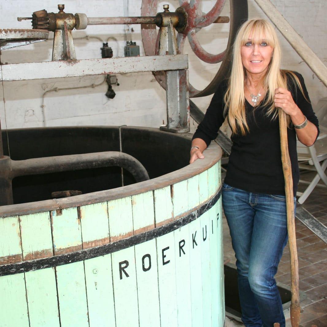 Christine Celis in Hoegaarden