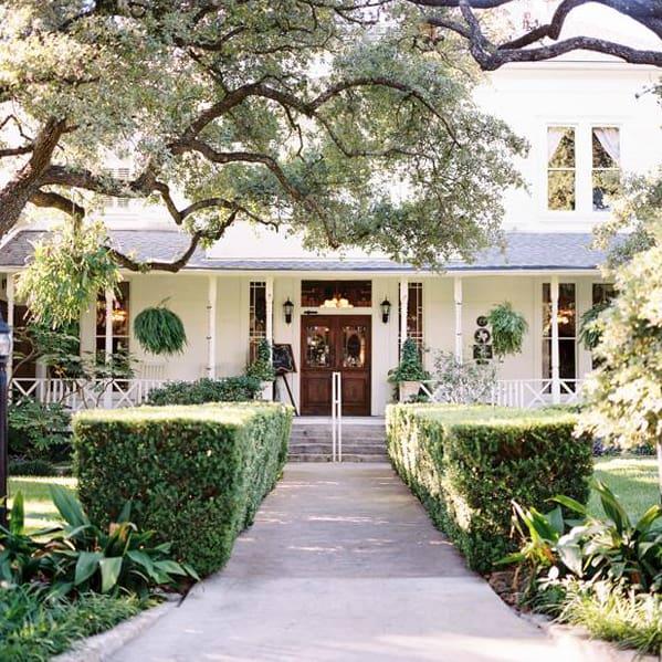 Green Pastures Restaurant Austin front exterior
