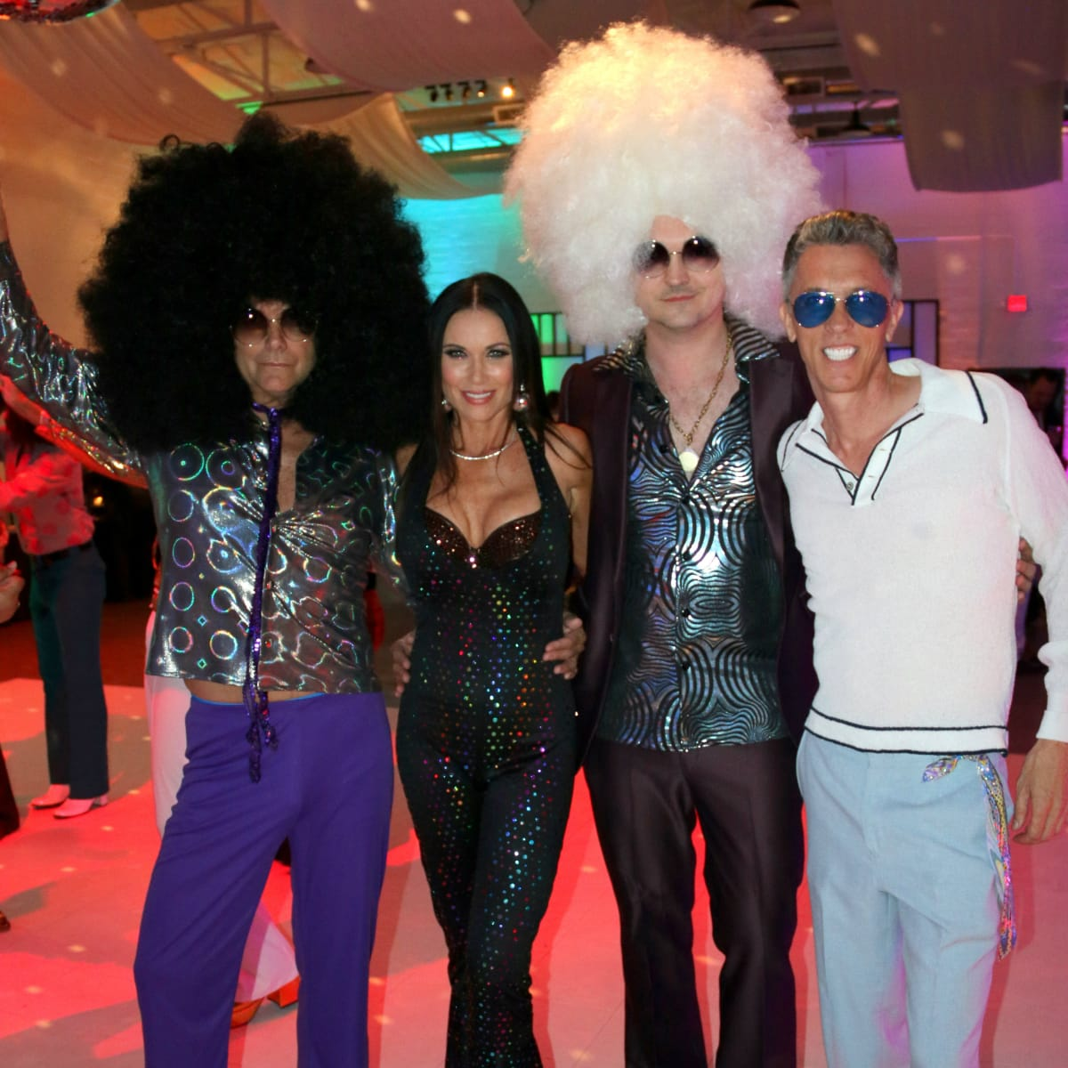 Steve Kemble, LeeAnne Locken, Chad Collum, Tommy Walker