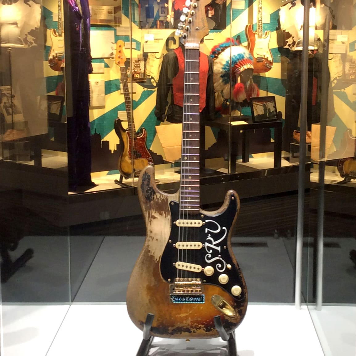 Pride & Joy: The Texas Blues of Stevie Ray Vaughan Number One Fender Stratorcaster