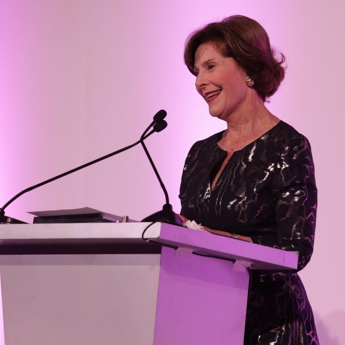 Former First Lady Mrs. Laura Bush