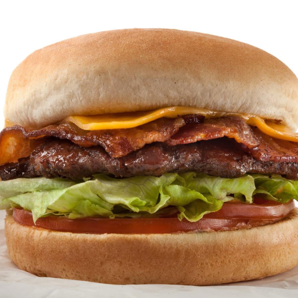 P. Terry's cheeseburger burger