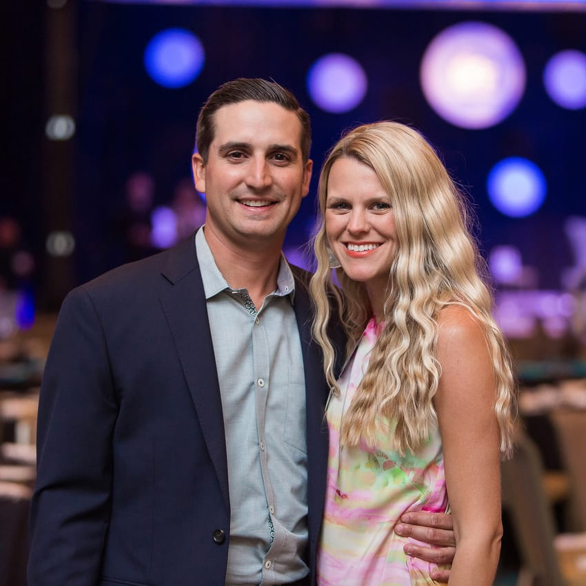 Andy Roddick Foundation Opportunity Matters Luncheon 2017 Sean Farmer Meggie Hodge