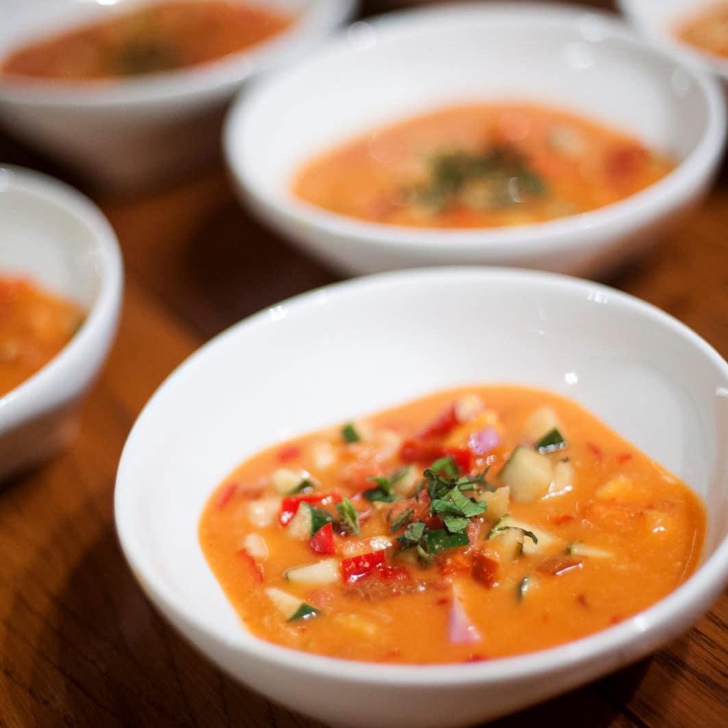 Bistro Vonish food truck vegan soup