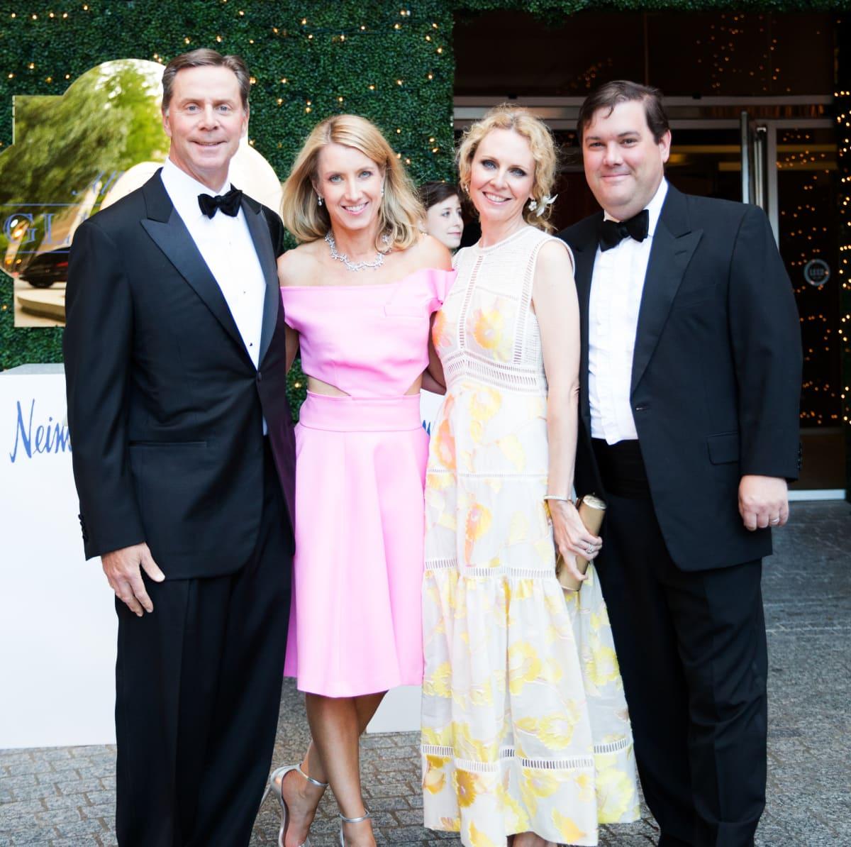 Lisa and John Rocchio, Hale and Deedee Hoak