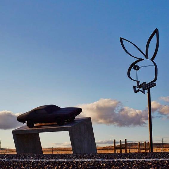 Playboy Marfa by Richard Phillips