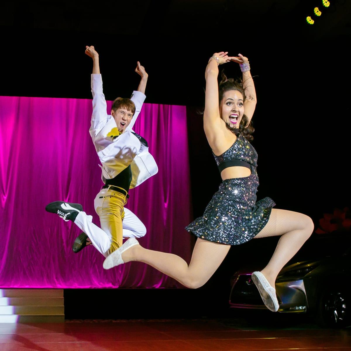 Dancing with the Stars Austn 2016 Johnson Vaughn Brock Taylor Edwards