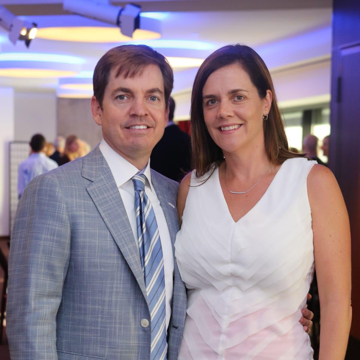 Born Yesterday Opening Dinner, 6/16 Stephen Morse, Christina Morse