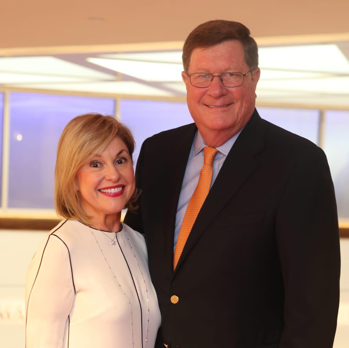 Born Yesterday Opening Dinner, 6/16  Sharyn Weaver, Jim Weaver