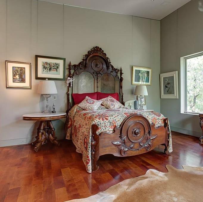 Rocking W Ranch Master Bedroom
