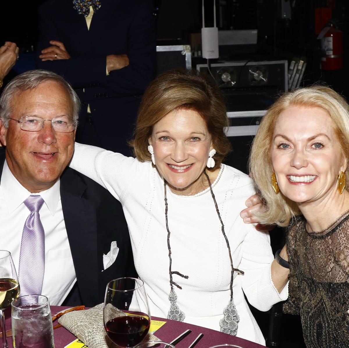 Bill Montgomery, Deedie Rose, Nancy Marcus