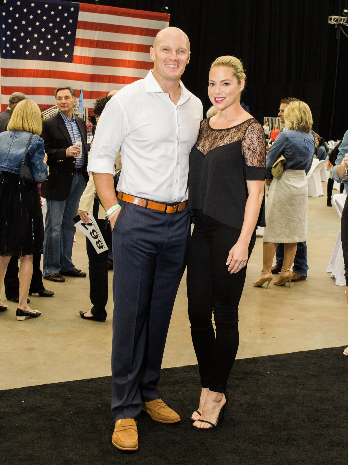 Houston, Impact A Hero Hall of Fame Gala, May 2016, Chris Myers, Jenny Myers