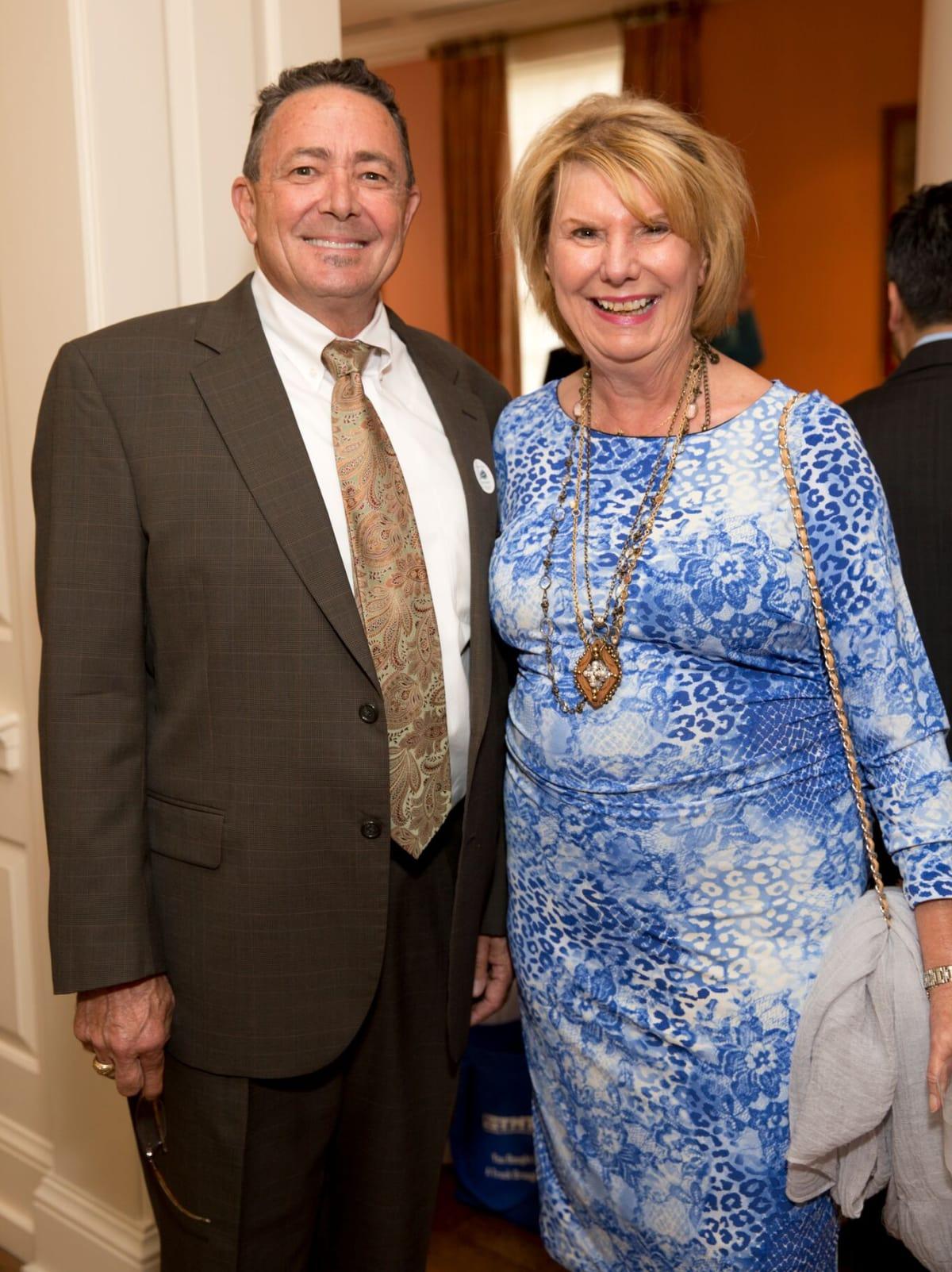 Houston, Bayou Preservation Association Anniversary Luncheon, May 2016, Robert Rayburn, Judy Meyer