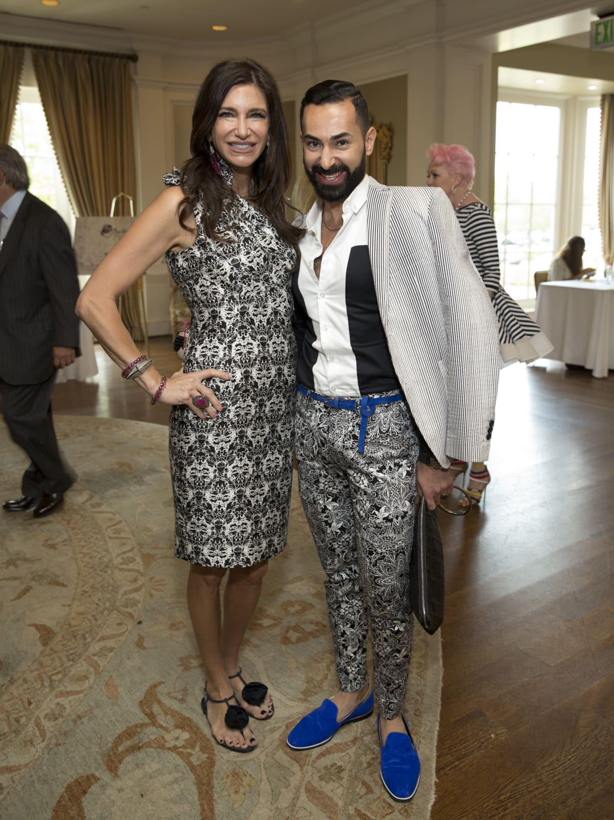 Houston, I Am Waters 5th Annual Supermodel Luncheon, May 2016, Melissa Mithoff, Fady Armanious