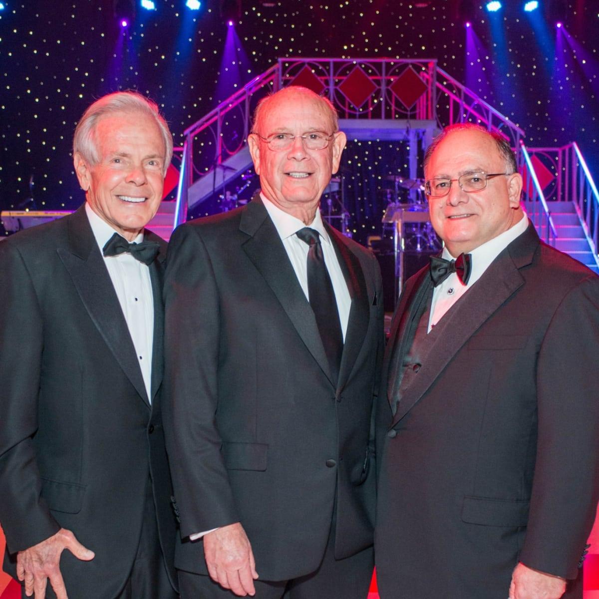 Memorial Hermann Gala 5/16 Jim Smith, Walter Johnson, Clarence Cazalot