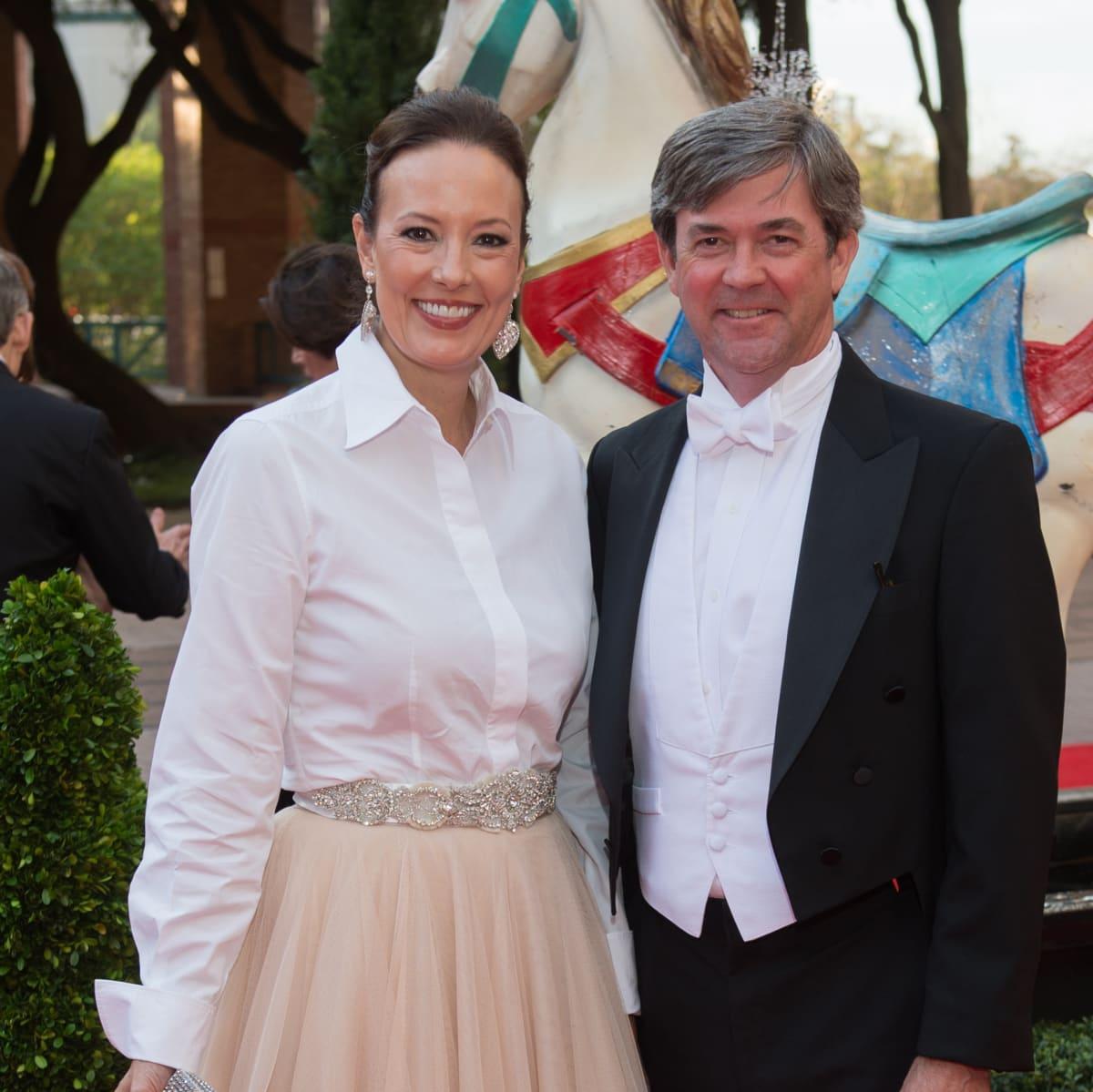 Houston Grand Opera Ball, 4/16 Catherine Bain, Matt Hennesy
