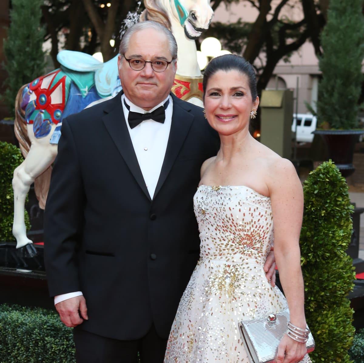 Houston Grand Opera Ball, 4/16  Tony Petrello, Cynthia Petrello
