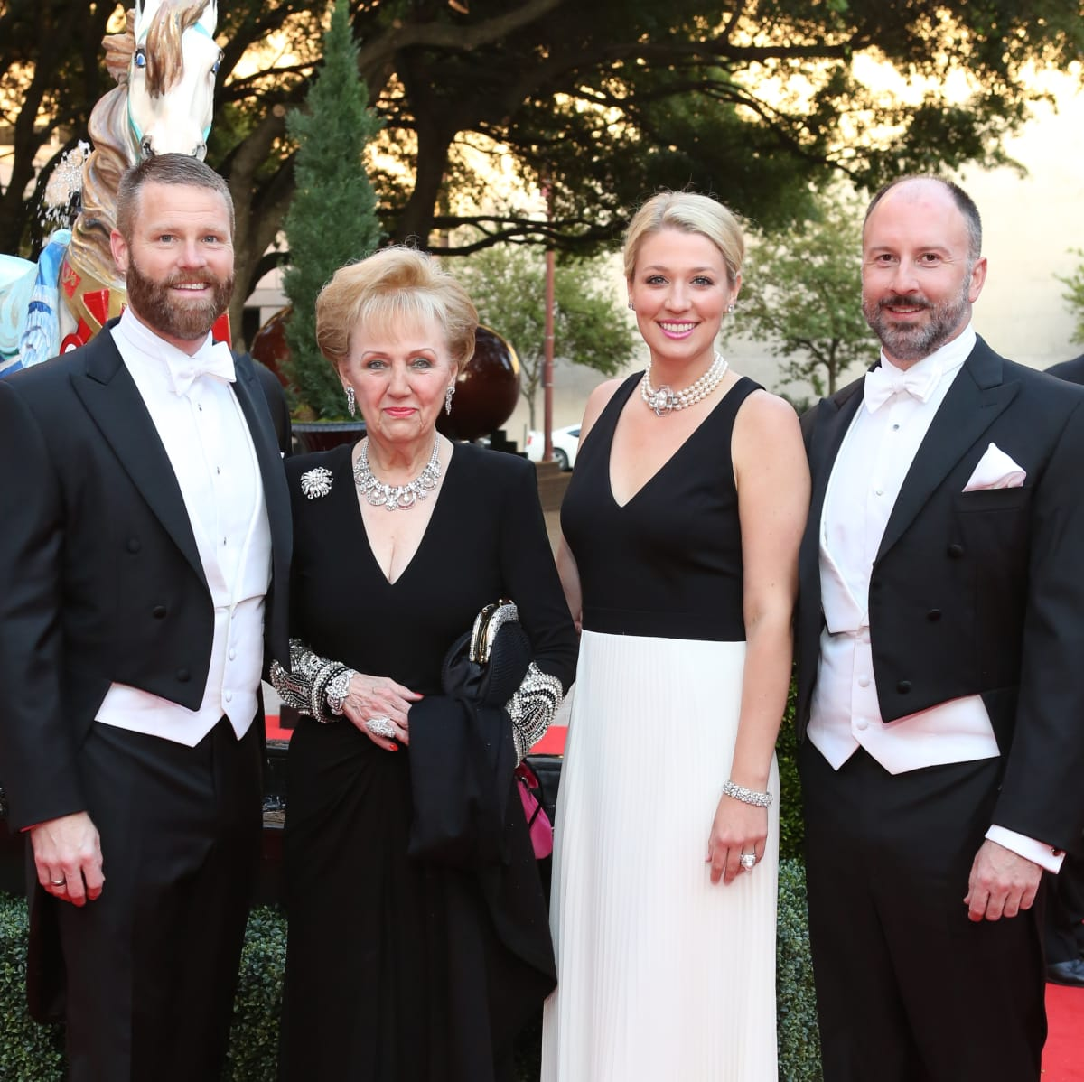 Houston Grand Opera Ball, 4/16 Kevin Black, Marguerite Swartz, Christina Stith, Tony Bradfield