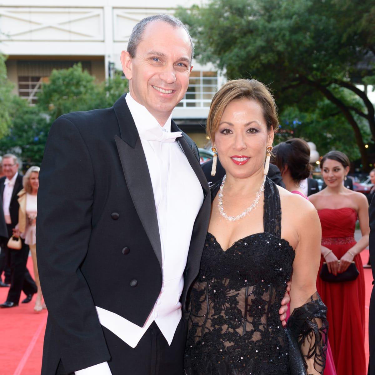 Houston Grand Opera Ball, April 2016 Kevin Mitchell, Pat Mitchell