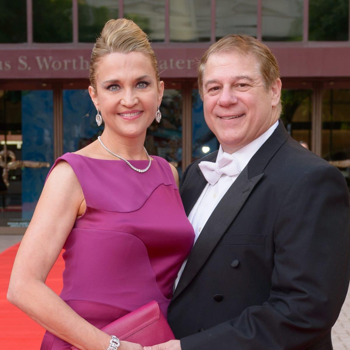 Houston Grand Opera Ball, April 2016, Mary D'Andrea, Dr. Mark D'Andrea