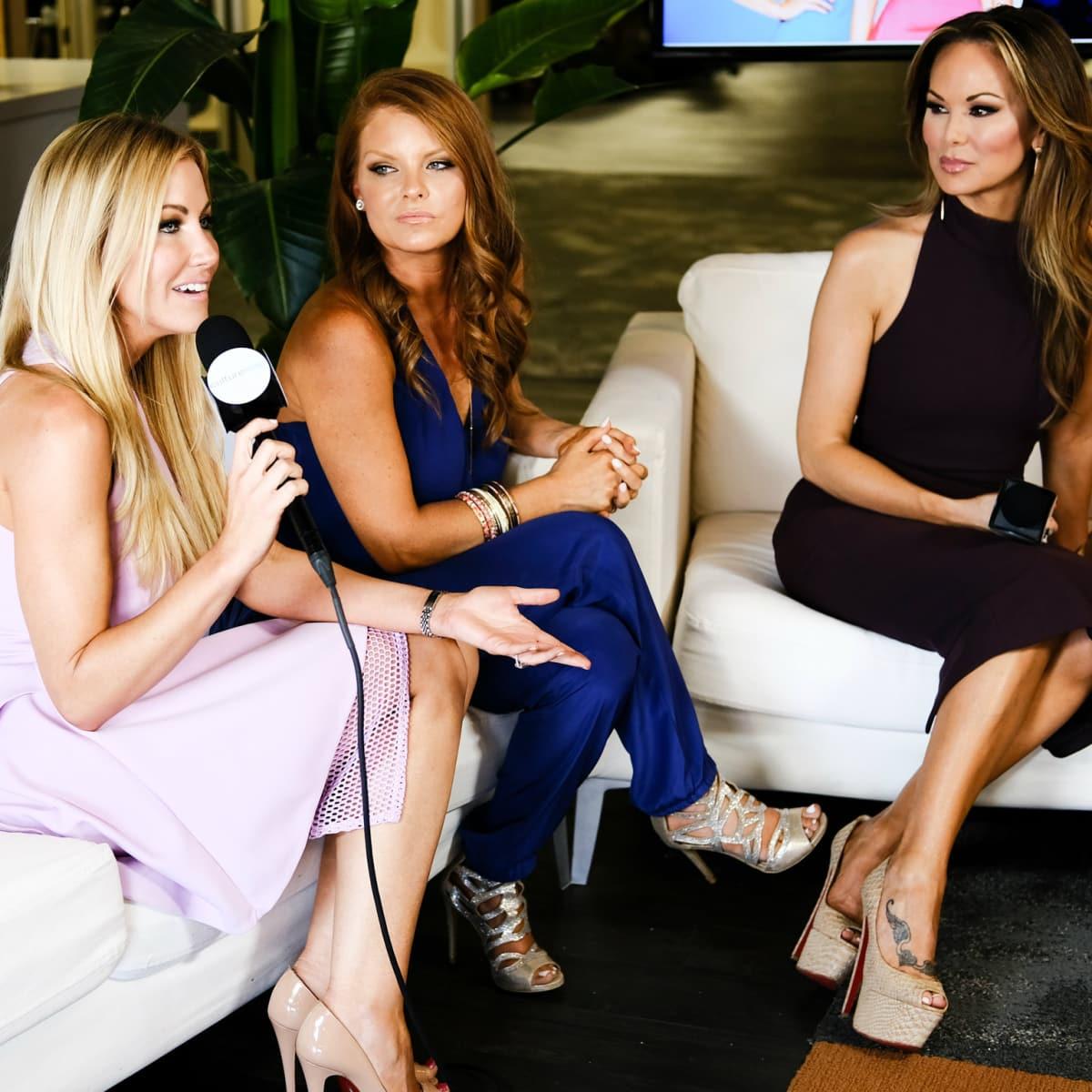 Real Housewives of Dallas Stephanie Hollman, Brandi Redmond, Tiffany Hendra