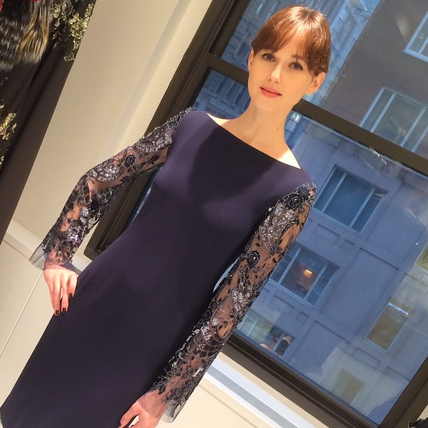 Randi Rahm Joan dress named for Joan Rivers
