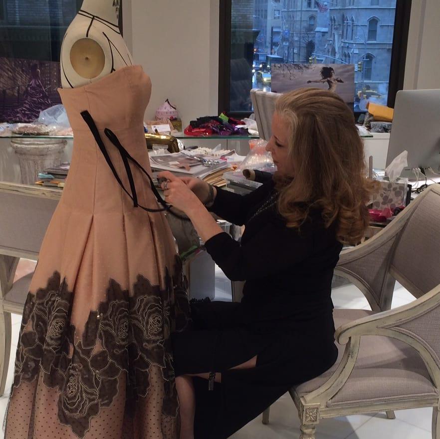Randi Rahm in her New York studi