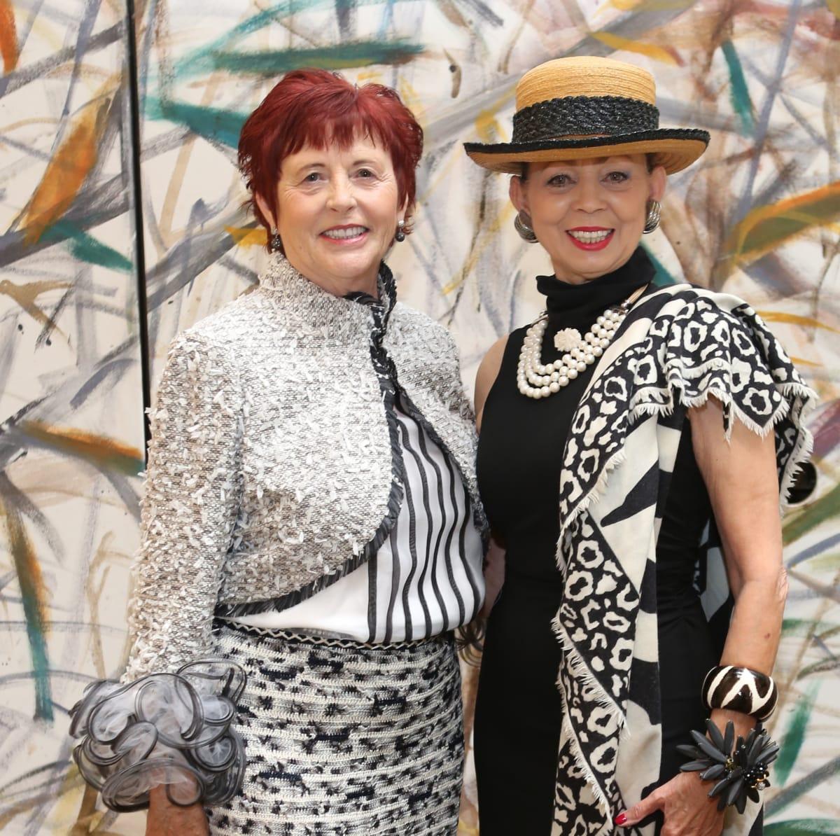 HGO Ball luncheon, March 2016, Irene Bourke, Danielle Ellis