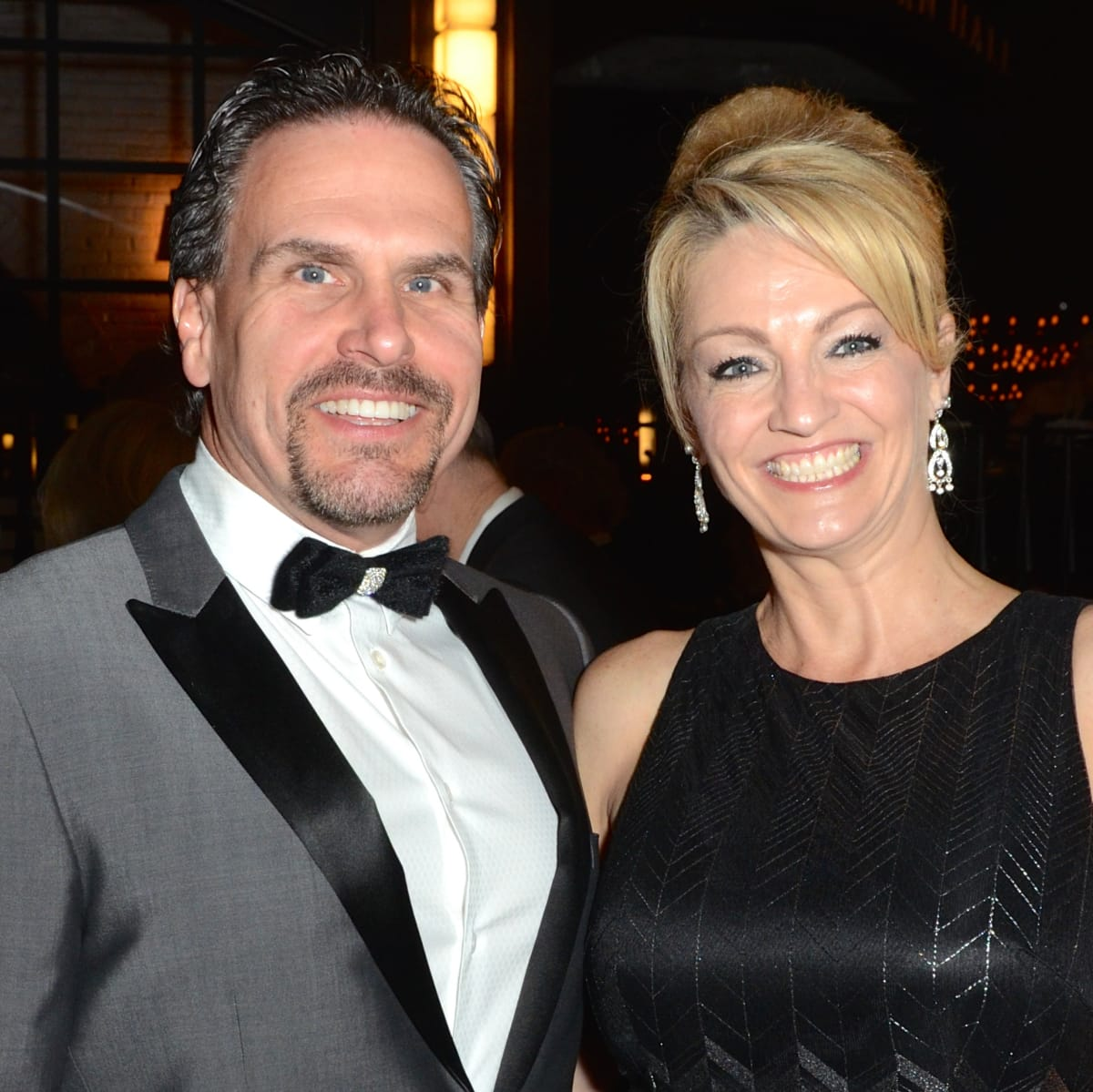 Duke and C.C. Ensel at Stages Gala