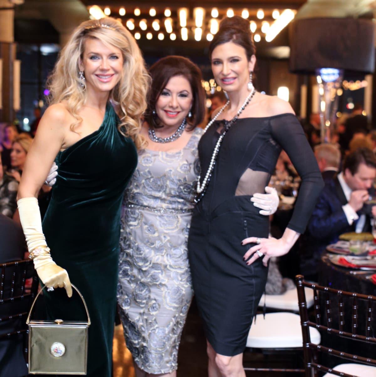 Tatiana Green, Debbie Festari, Melissa Mithoff at Stages Gala