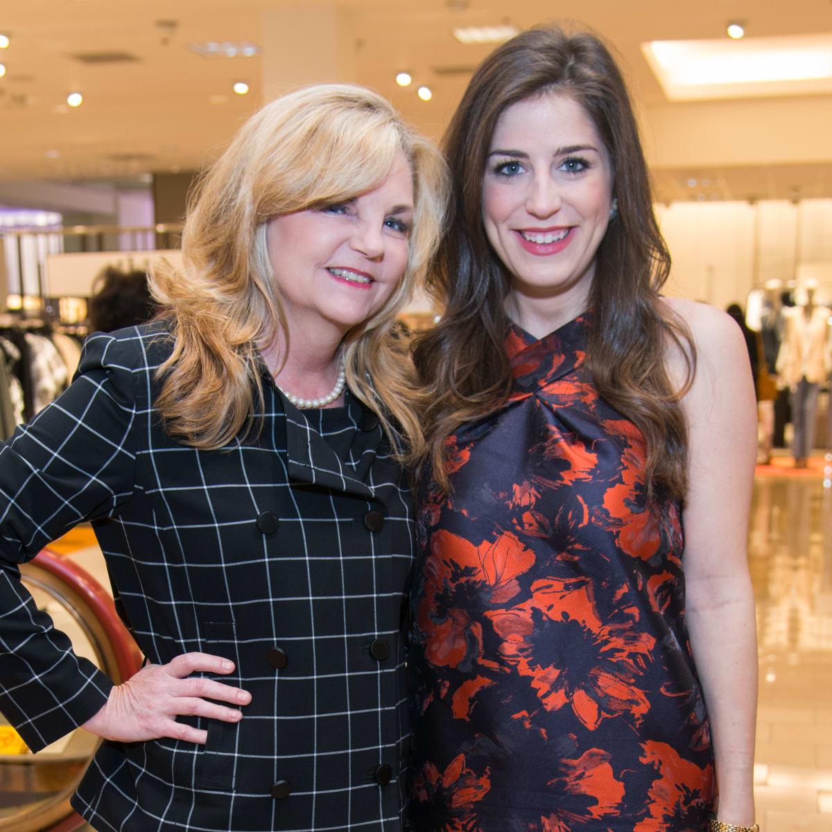 Kim Padgett, Laura Max Rose at Dress for Dinner