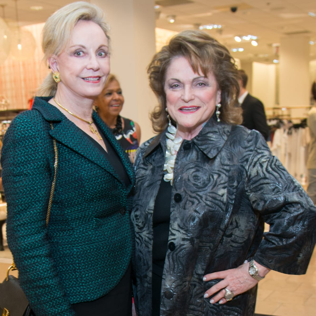 Jane Page Crump, Beth Wolff at Dress for Dinner