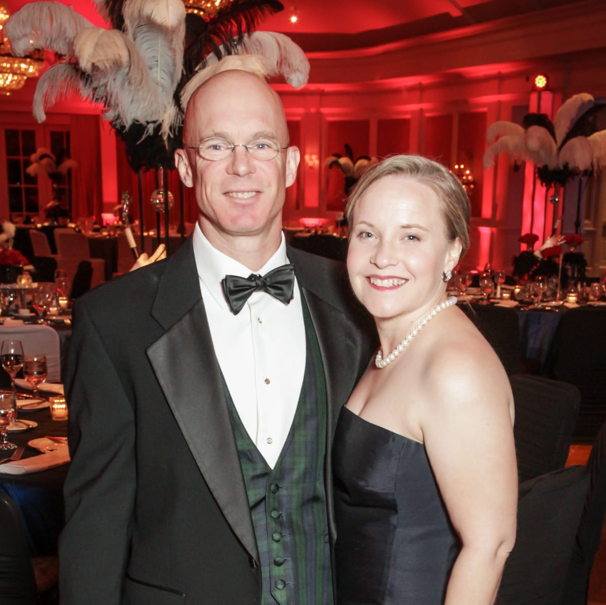 Pearl Ball, Feb. 2016, Jenny Johnson, Chris Johnson