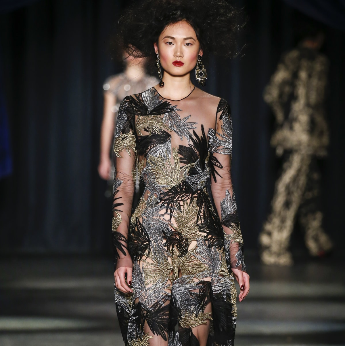 Naeem Khan fall 2016 collection Look 20