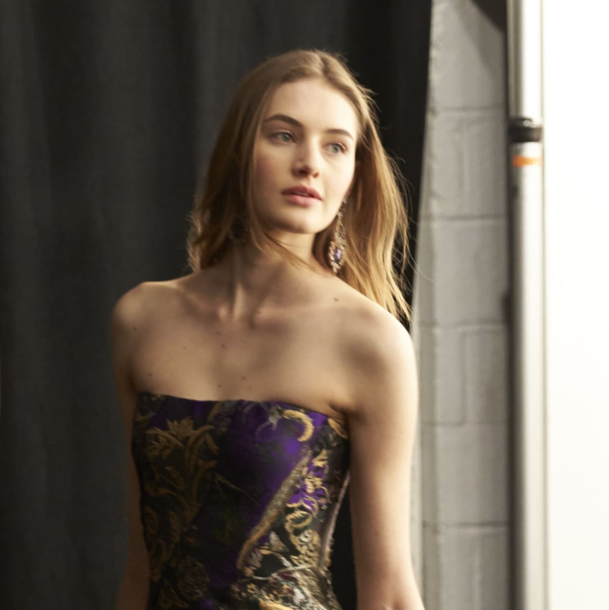 Ralph Lauren fall 2016 collection backstage gowns