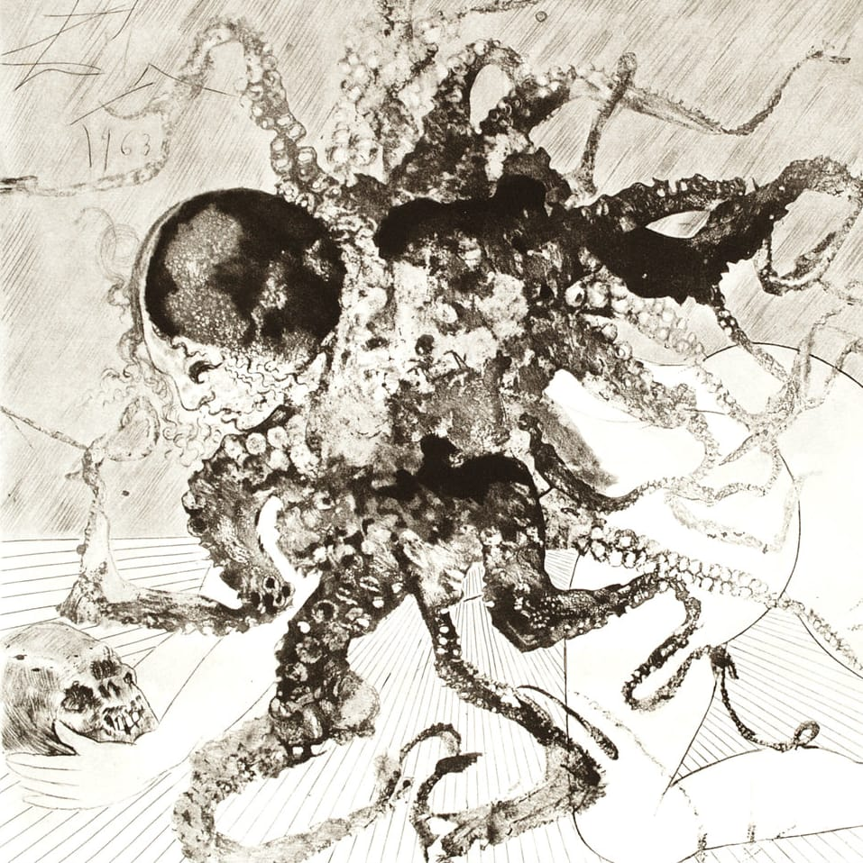 Medusa by Salvador Dali