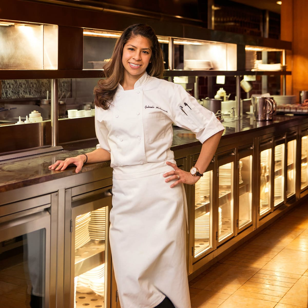 Chef Gabriela McCormick of Fearing's restaurant in Dallas