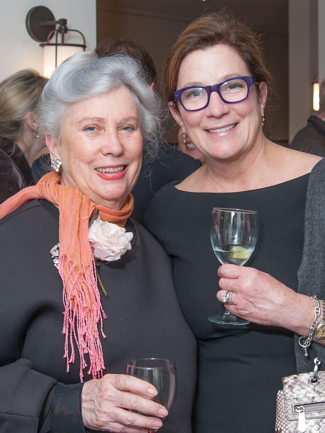 Houston, Da Camera VIP launch event for Sarah's Marcel Proust Project, Salle Vaughn & Carolyn Landen