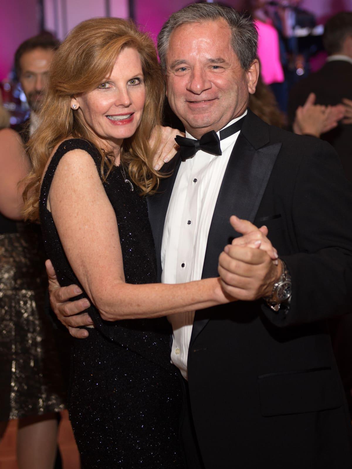 Houston, Pink Door Night of the Phoenix Gala, November 2015, Sally Dowell and Danny Kurtin