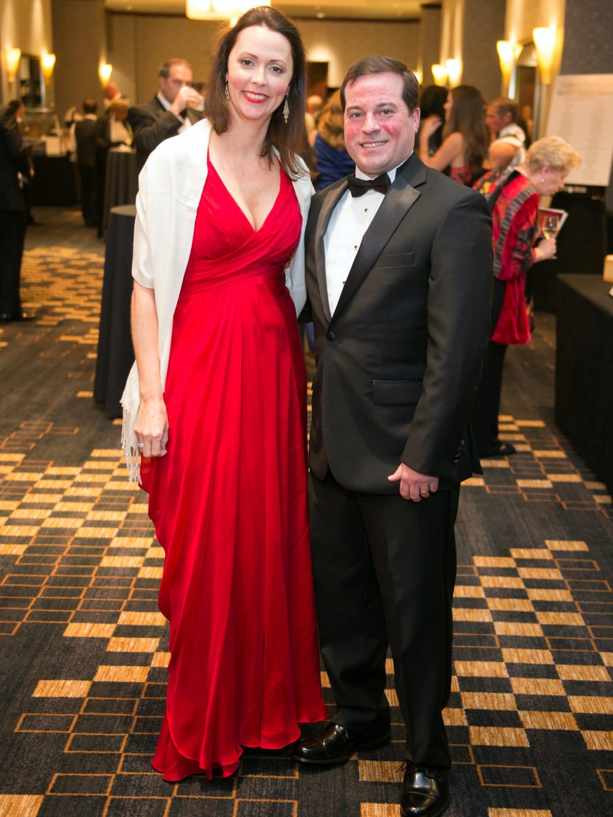 Houston, Pink Door Night of the Phoenix Gala, November 2015, Rachel and James Jones
